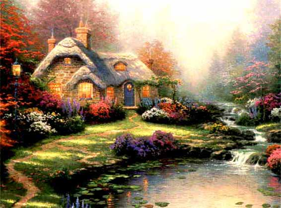 Kinkade - Everett's Cottage