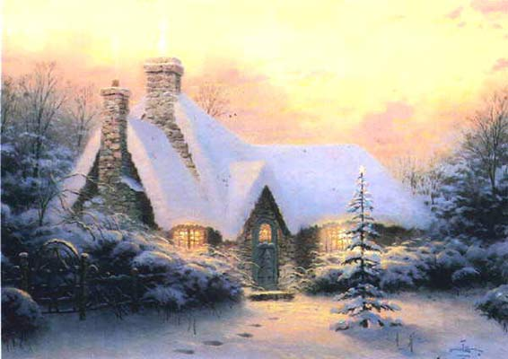 Kinkade - Christmas Tree Cottage