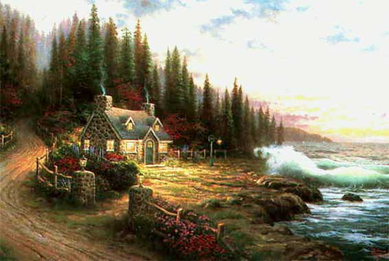 Kinkade - Pine Cove Cottage