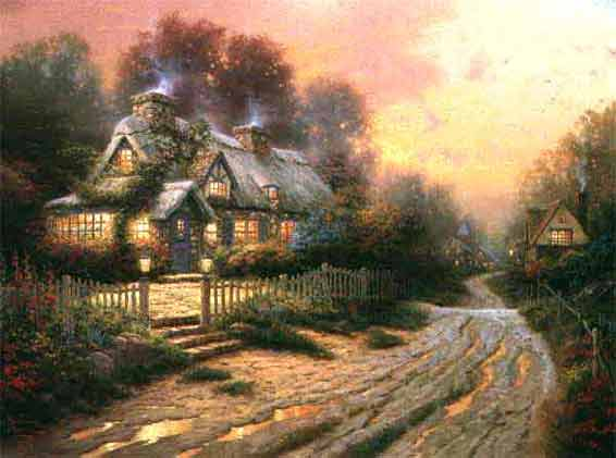 Kinkade - Teacup Cottage