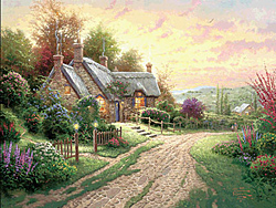 Thomas Kinkade - A Peaceful TIme